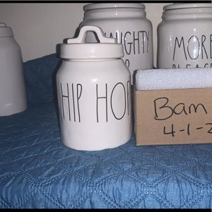 Rae Dunn Baby 2017 HipHop Easter Canister